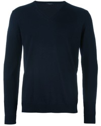 Roberto Collina V Neck Knitted Sweater