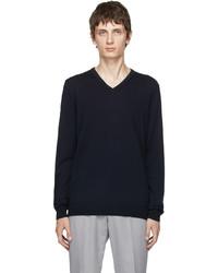 Hugo San Bernardo 3 V Neck Sweater