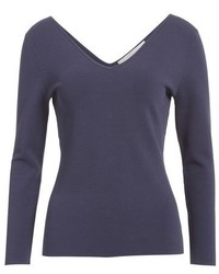 Nordstrom Signature And Caroline Issa Angel V Neck Pullover