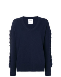 Barrie Troisieme Diion Cashmere V Neck Pullover