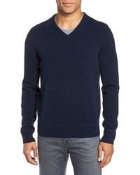 Nordstrom Men's Shop V Neck Cashmere Sweater