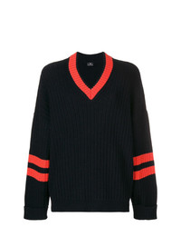 Ps By Paul Smith V Neck Ribbed Sweater
