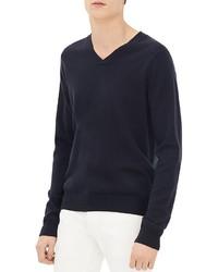 Sandro V Neck Sweater