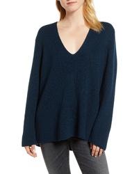 Velvet by Graham & Spencer V Neck Sweater
