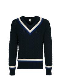 Kent & Curwen V Neck Sweatshirt