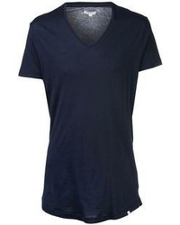 Navy v neck t shirt original 380052