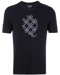 Giorgio Armani Shallow V Neck T Shirt