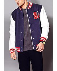 Forever 21 21 East Coast Varsity Jacket