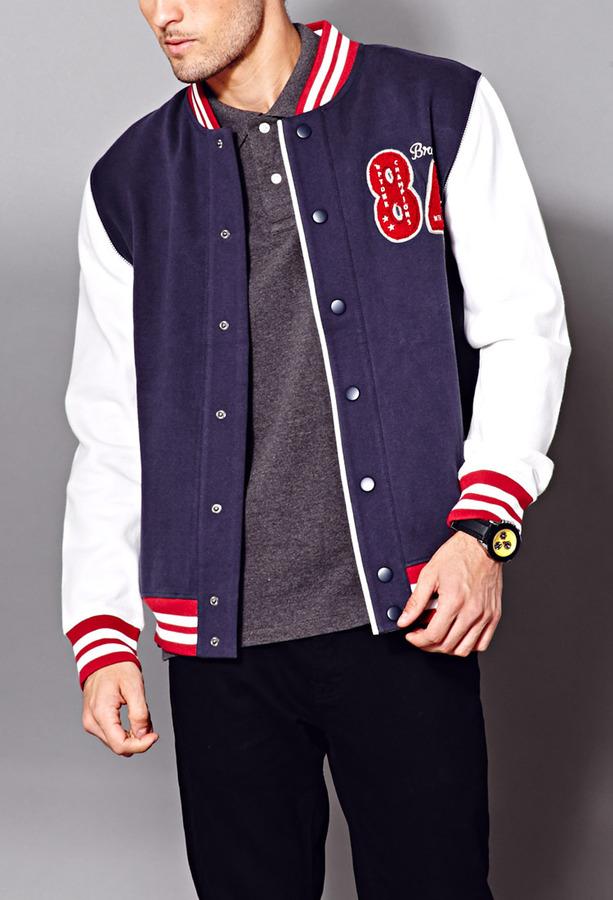 $24, Forever 21 21 East Coast Varsity Jacket