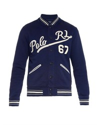 Polo Ralph Lauren Logo Embroidered Varsity Jacket