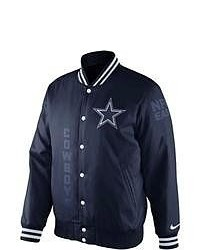 Nike Dallas Cowboys Varsity Jacket Navy Blue