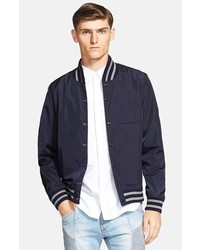 Balmain Pierre Chest Logo Baseball Jacket