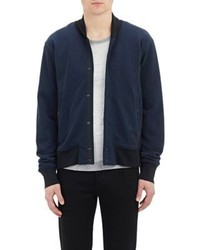 Rag and Bone Rag Bone Varsity Jacket Blue
