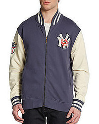 Red Jacket New York Yankees Varsity Jacket