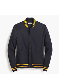 J.Crew Wallace Barnes Cotton Varsity Jacket