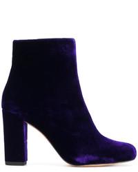 IRO Block Heeled Ankle Boots