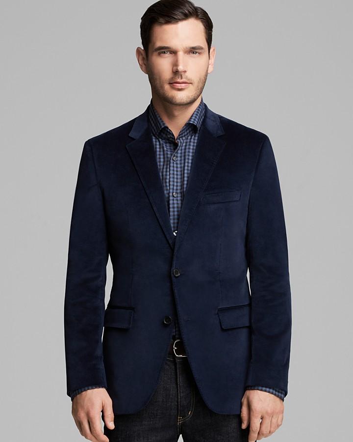... Hugo Boss Boss Coastus Velvet Blazer