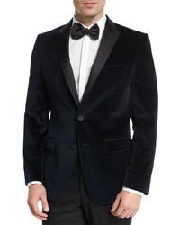 56fdeb95b Hugo Boss Boss Haimon Velvet Dinner Jacket Navy, $645 | Neiman ...