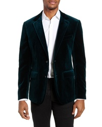 Bonobos Jetsetter Slim Fit Stretch Velve Blazer