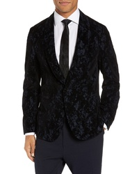 BOSS Narik Slim Fit Velvet Blazer