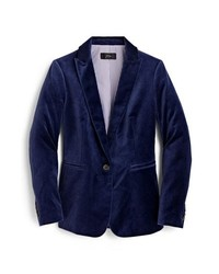 Blazers for Fashion Women's Navy Women Velvet a1wqx5PS