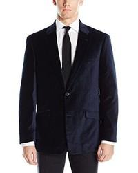 Tommy Hilfiger Waylon 2 Button Pattern Velvet Blazer