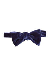 Paul Smith Blue Velvet Bow Tie