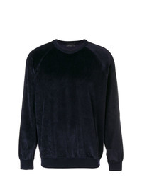 Roberto Collina Velvet Crew Neck Sweater