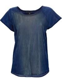 Theyskens theory velvet t shirt medium 9324