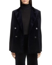 Acne Studios Double Breasted Velvet Jacket
