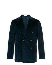 Boglioli Velvet Double Breasted Jacket