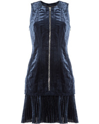 Zipped velvet dress medium 850249