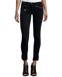 Rag & Bone Jean Rbw 23 Velvet Skinny Ankle Jeans Navy