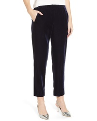 J.Crew Velvet Pull On Easy Pants