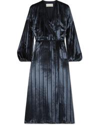 Michelle Mason Velvet Wrap Dress