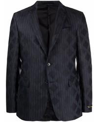 Versace Diamond Pinstriped Blazer