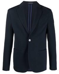 Emporio Armani Fitted Single Breasted Blazer