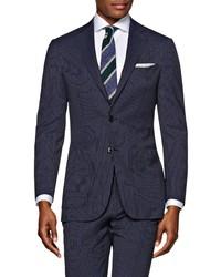 Suitsupply Havana Slim Fit Stripe Wool Sport Coat