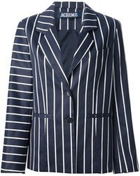 Jacquemus Contrast Stripe Blazer