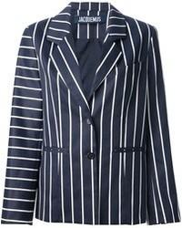 Jacquemus contrast stripe blazer medium 40642