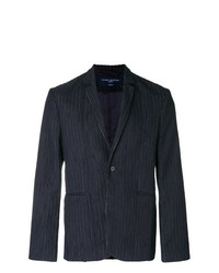 Natural Selection Laser Pinstriped Blazer