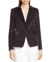 Rag & Bone Lexington Stripe Velvet Blazer