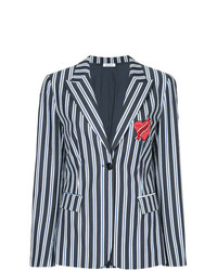 P.A.R.O.S.H. Love Me Striped Blazer