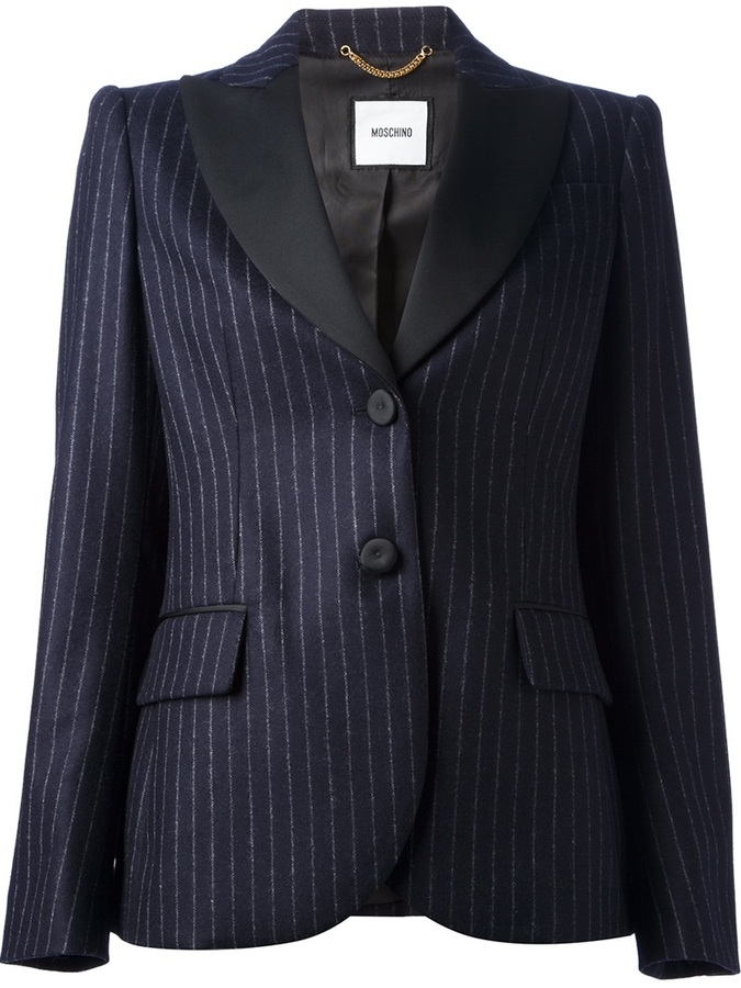 Moschino Pin Striped Blazer