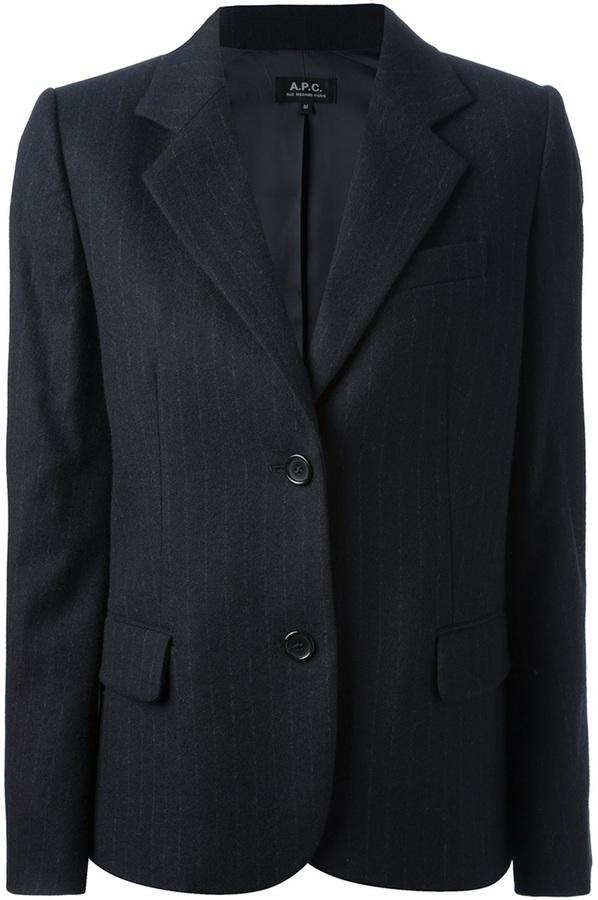 A.P.C. Pin Striped Blazer
