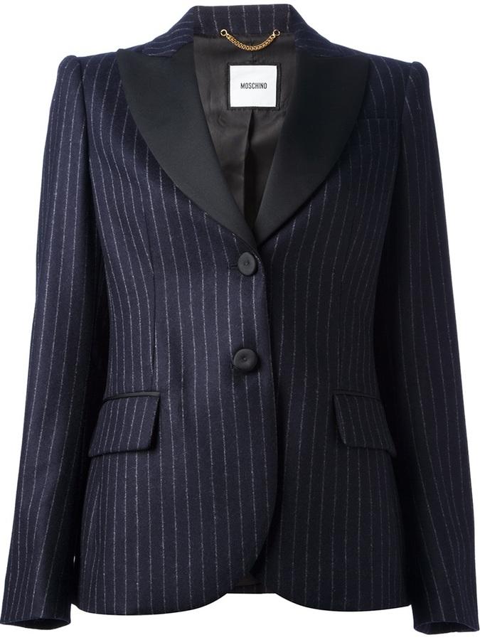 Moschino Pin Striped Blazer