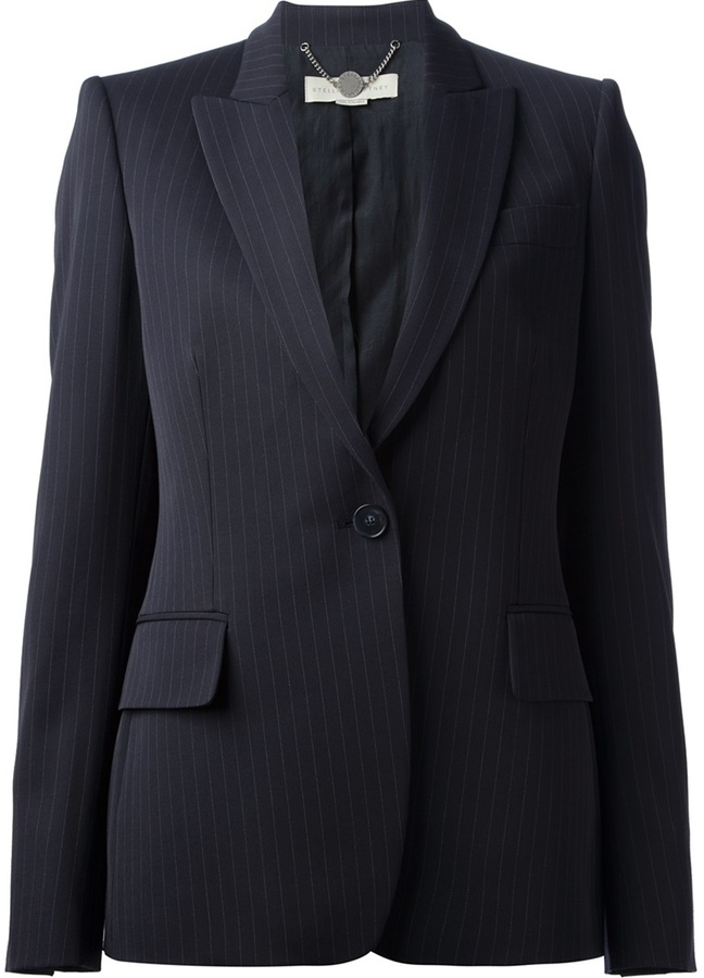 Stella McCartney Pin Striped Blazer