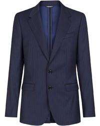 Dolce & Gabbana Striped Single Breasted Blazer