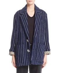 Undercover Stripe Blazer