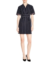 Sandro Francine Stripe Dress